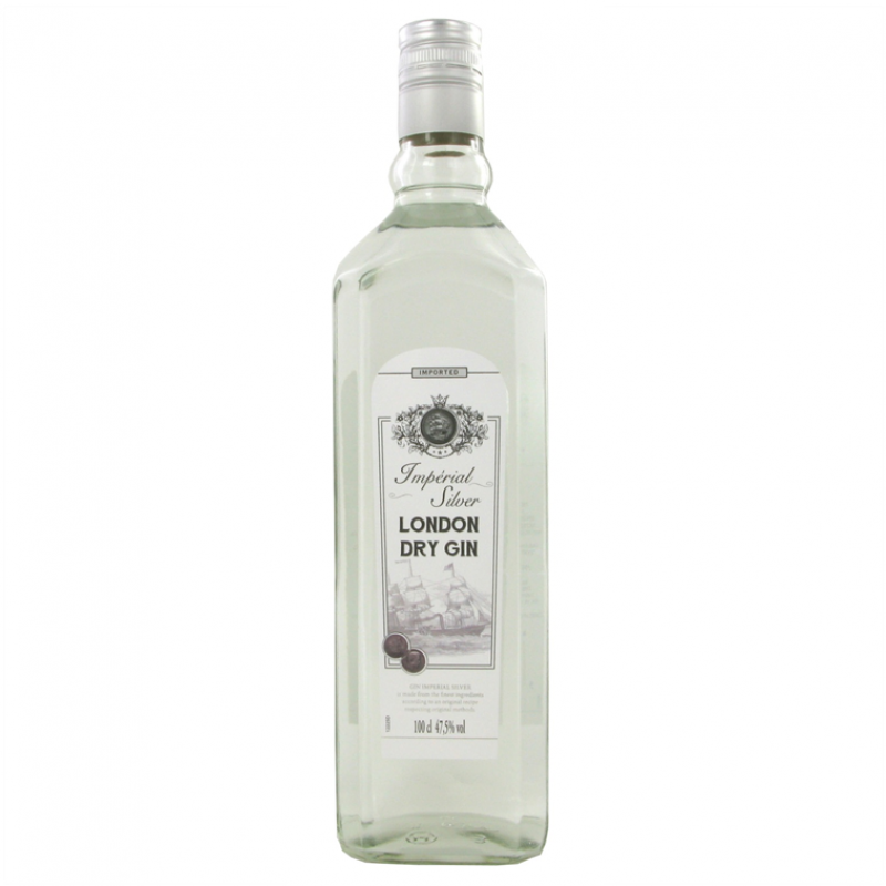 London Dry Gin  Imperial  Silver